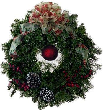 Fresh Green Holiday Wreath